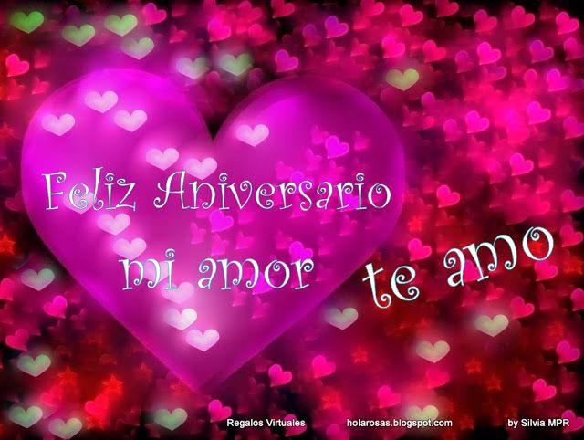 Feliz Aniversario En Espanol: Feliz Aniversario Amor Poema