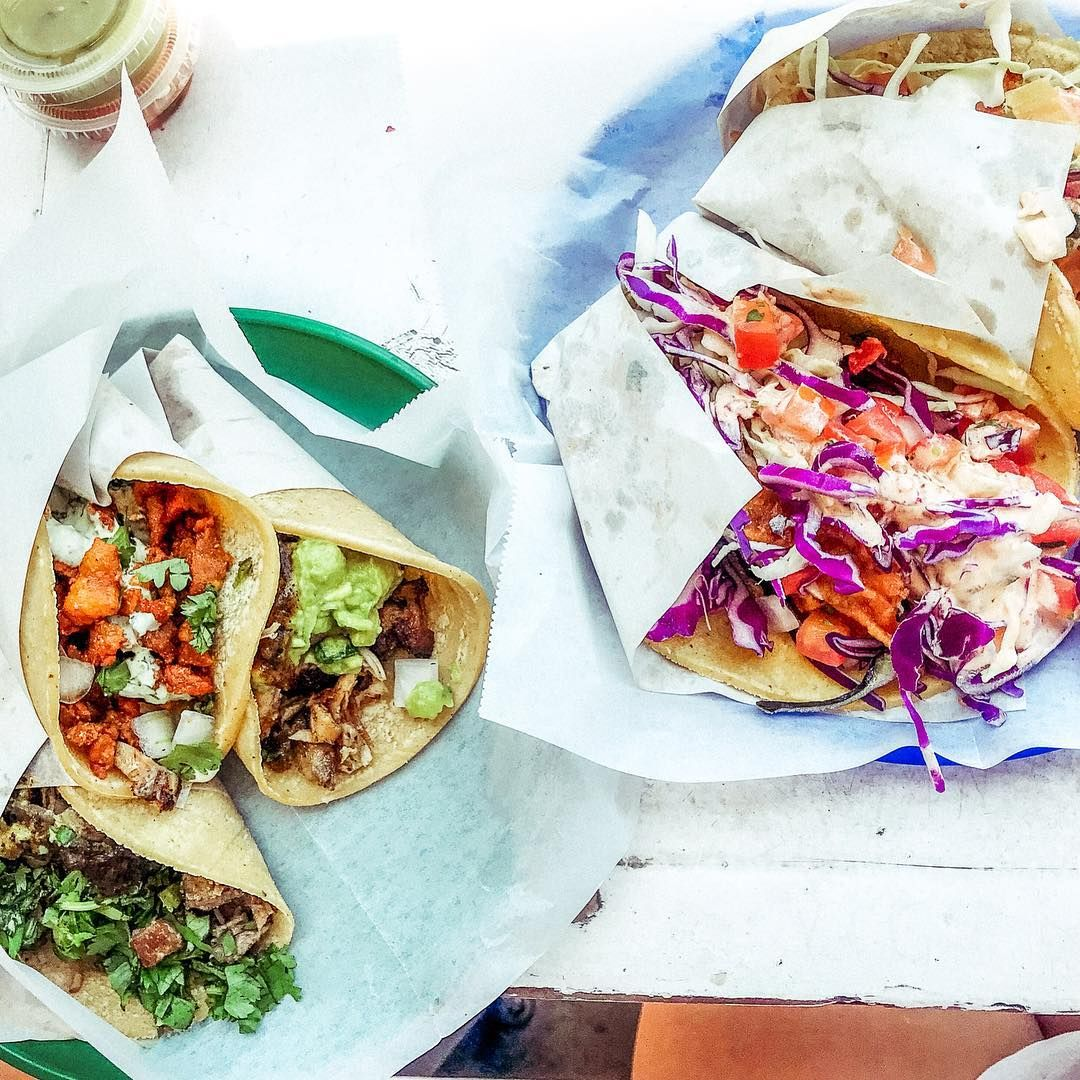 Some Of The Best Tacos In San Diego From The Taco Stand In La Jolla I Had A Chicken And Veggie Taco And Loved It But Nathan Tri Veggie Tacos Taco