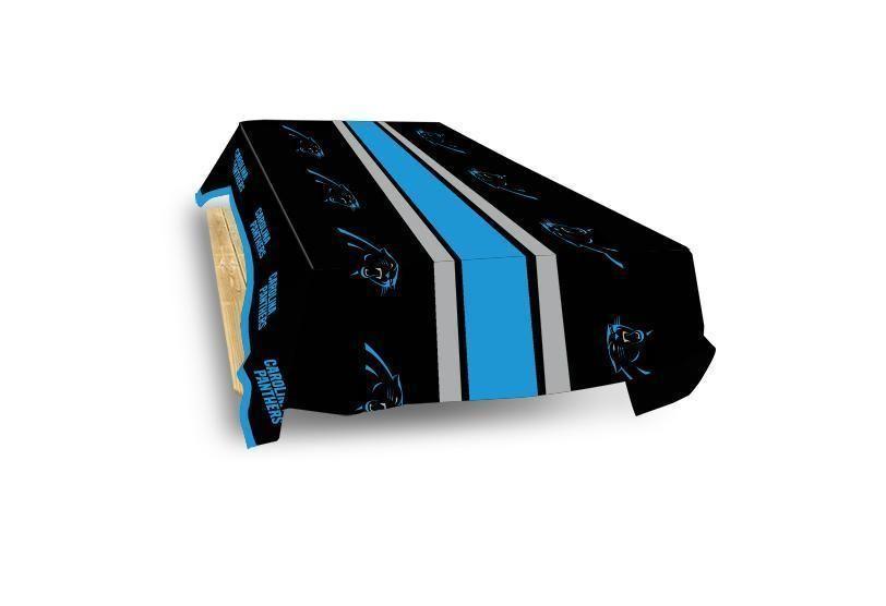 online retailer db7b9 5f58f Carolina Panthers Table Cover | Carolina Panthers | Table ...