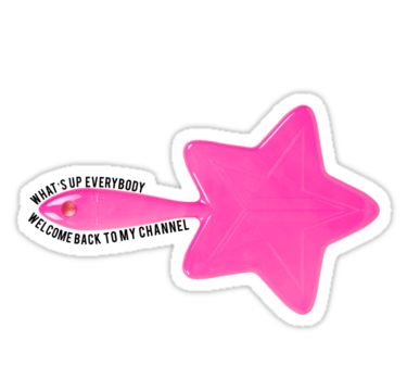 6702e4b07 Jeffree Star Intro Sticker in 2019 | Products | Star stickers ...