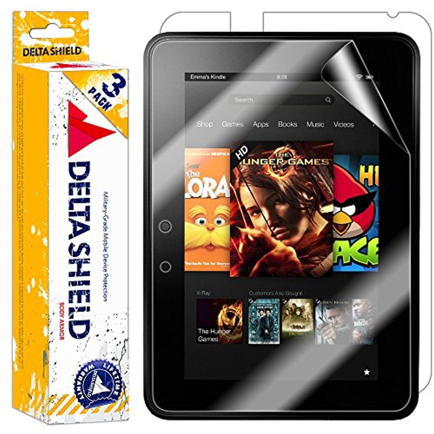 3 pack deltashield bodyarmor amazon kindle fire hd 7 screen 3 pack deltashield bodyarmor amazon kindle fire hd 7 screen protector publicscrutiny Image collections