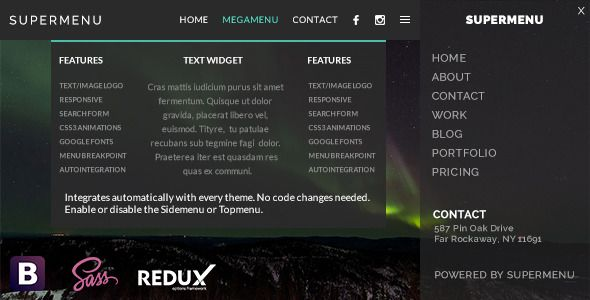 CodeCanyon Supermenu v2.4.2 – WordPress Mega Menu Plugin - http ...