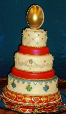 Images Of Russian Wedding Cakes Red Bride Cake