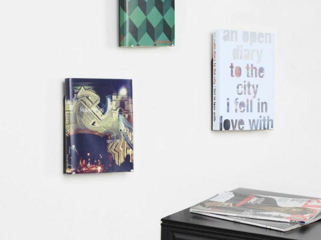 Conceal Boekenplank Umbra : Umbra conceal vertical display shelf beloved book display shelves