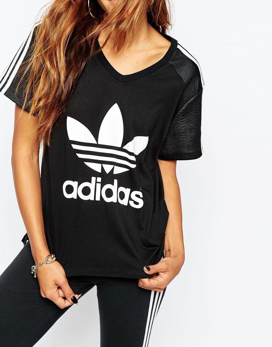Adidas Adidas Originali Erano T - Shirt, Con Tre Strisce & Trifoglio