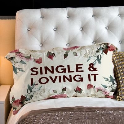 One Bella Casa Single Lovin It Pillow Case