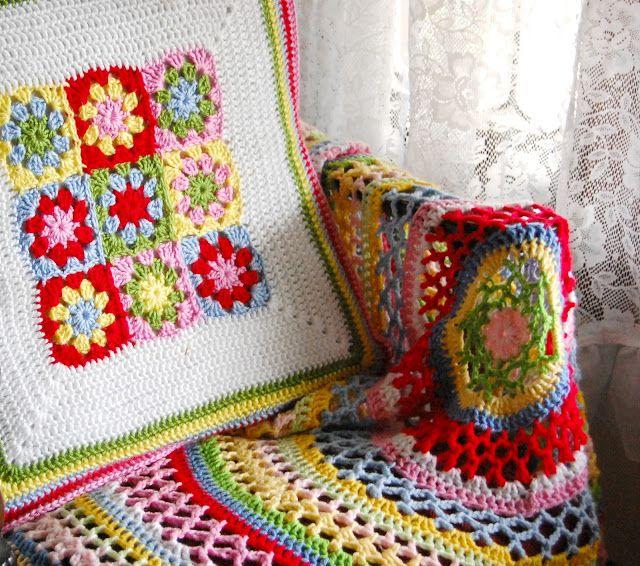 hopscotch lane: Summer Doily Blanket