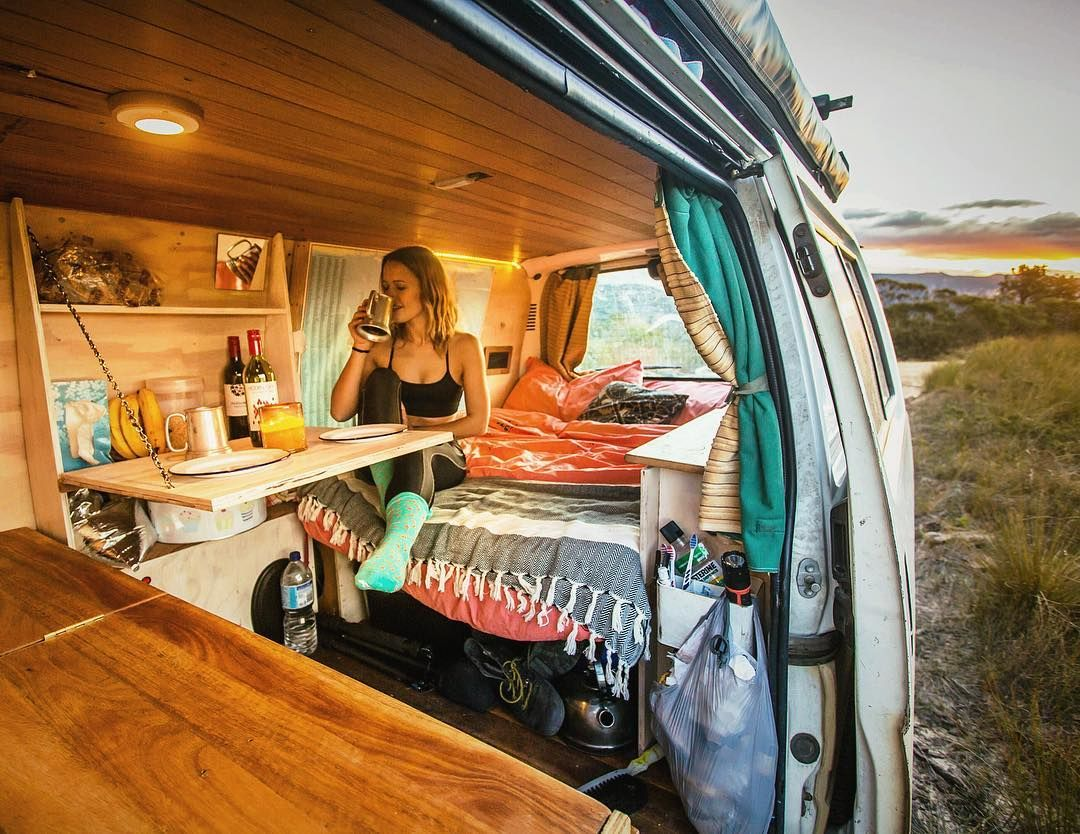 Living Out Of My Homemade Camper Van With Stoke The Dog In An Attempt To Avoid Growing Up