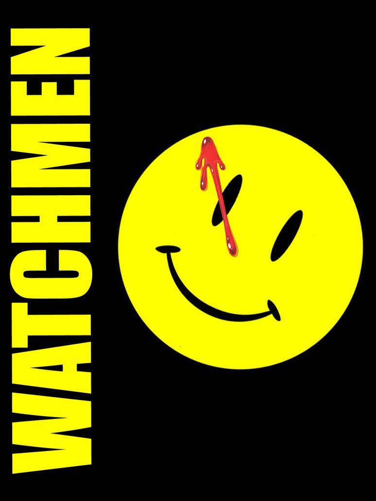 """WATCHMEN COMIC SMILEY FACE LOGO BADGE with blood 25mm 1/"""" Badge"""