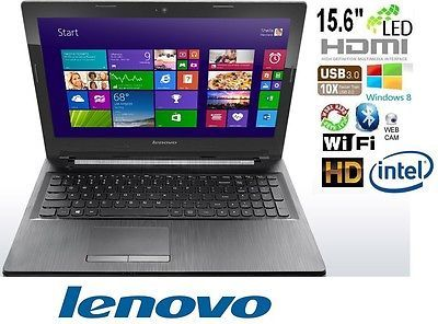 New Lenovo G50-30 Notebook Laptop Computer-15.6-HD-Quad Core-Silver/black-$999