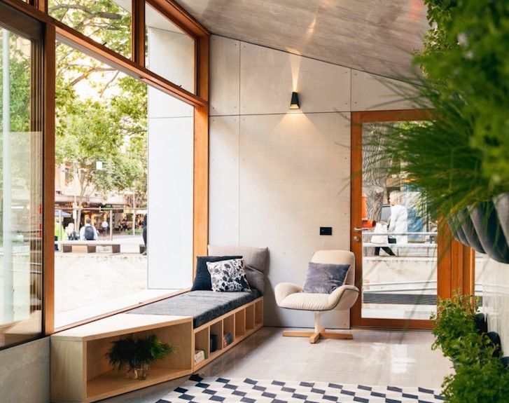 Australia's first carbon-positive prefab house produces more e...The sunroom serves as a buffer zone and spans the width of the structure.  Read more: Australia's first carbon-positive prefab house produces more energy than it consumes Carbon Positive House by ArchiBlox – Inhabitat - Sustainable Design Innovation, Eco Architecture, Green Building