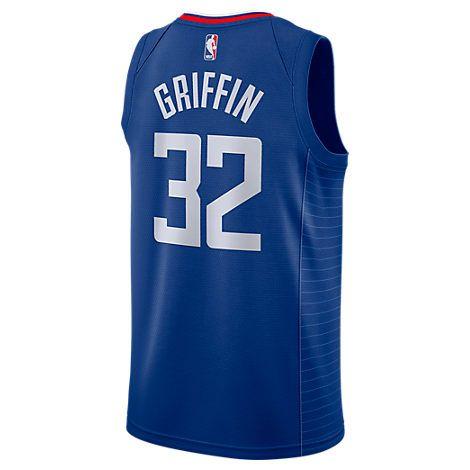 e94e6638ecf NIKE MEN S LOS ANGELES CLIPPERS NBA BLAKE GRIFFIN ICON SWINGMAN JERSEY