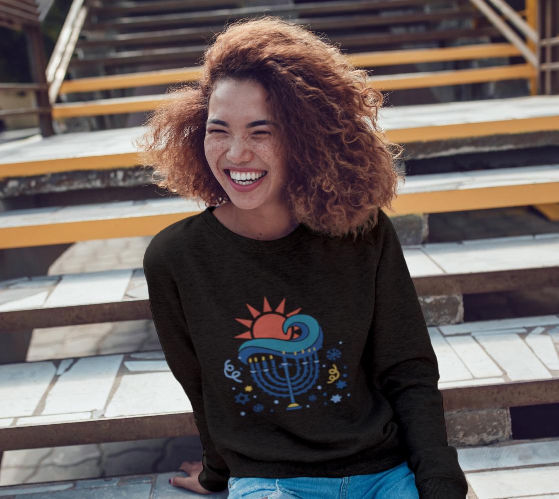 Candle Light Crewneck Sweatshirt By Rainbow Shop Art Of Where Crew Neck Sweatshirt Crew Neck Sweatshirts [ 1000 x 1120 Pixel ]