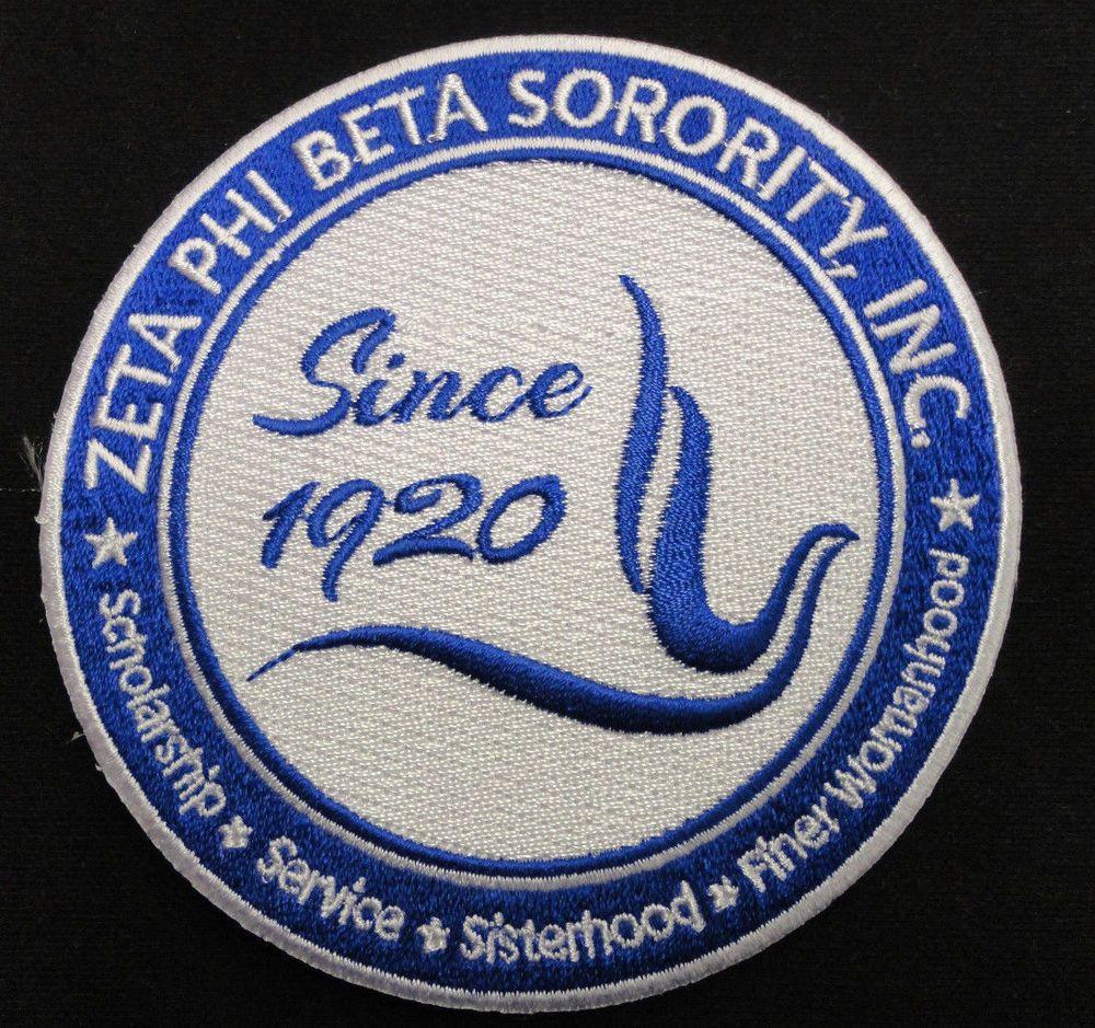 Zeta phi beta seal patch 4 12 brand new zeta phi beta patches zeta phi beta seal patch 4 12 brand new buycottarizona