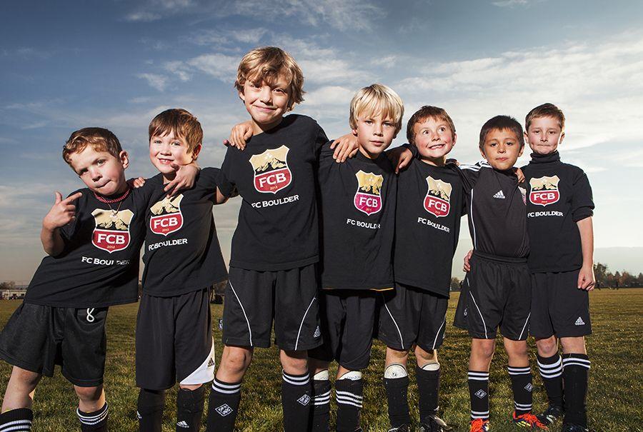Colorado sports photographer shoot little league soccer
