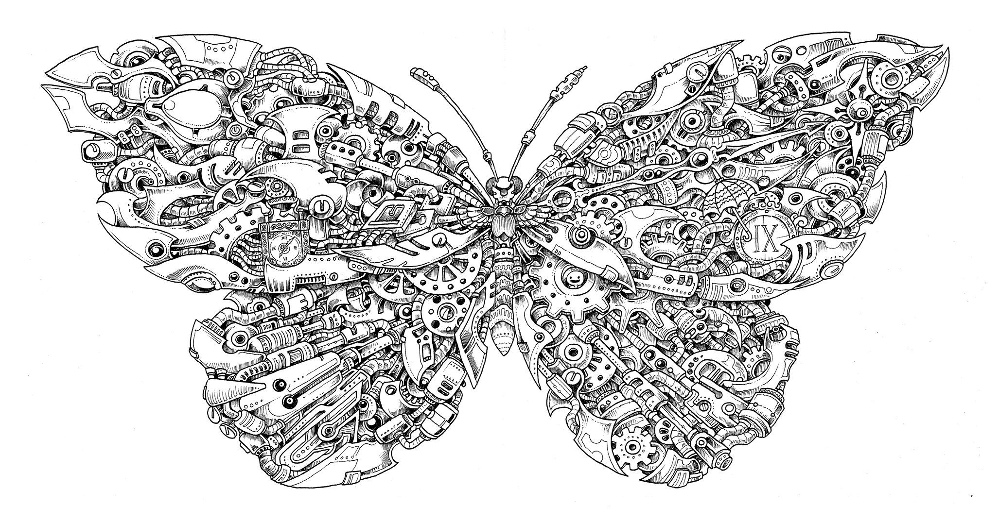 Imagimorphia An Extreme Coloring And Search Challenge Kerby Rosanes Skull Coloring Pages Blank Coloring Pages Mom Coloring Pages [ 1075 x 2055 Pixel ]