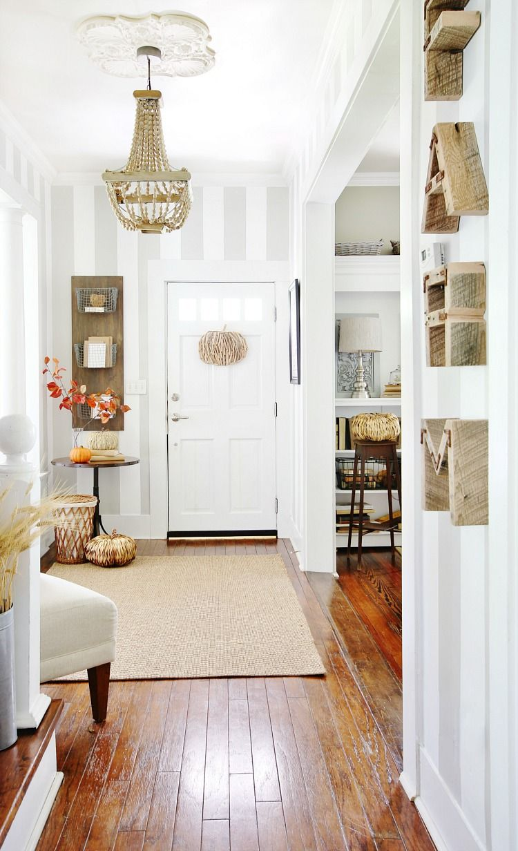 Entrance Area Country Style Living Room By Zero9 Country: Fall Tour 2016 (and A $100 HomeGoods Gift Card Giveaway