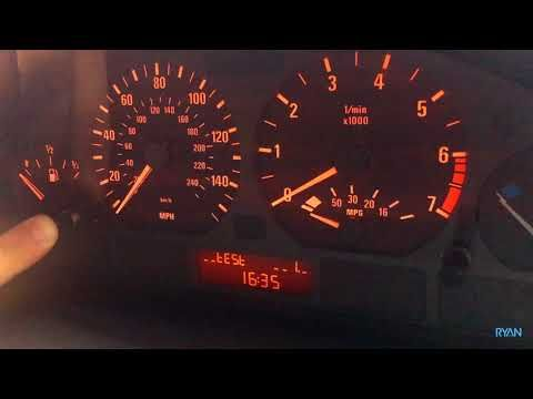 BMW E46 SERVICE RESET in 30 SECONDS without any tools