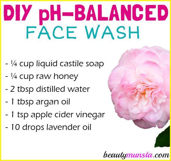 Homemade Skin Care: DIY PH Balanced Face Wash For Healthy Skin