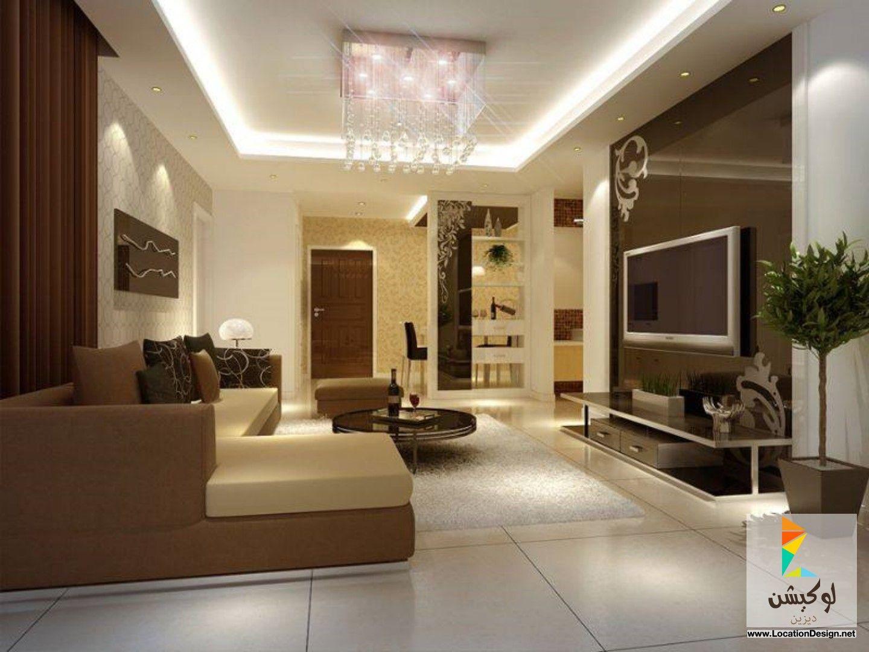 ديكورات جبس اسقف مجالس 2015 Elegant Living Room Design Modern Living Room Interior Living Room Wall Designs