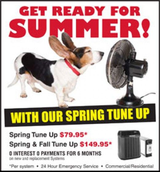 Spring Or Summer Home Air Conditioning Tune Up Checklist Air Conditioning Services Hvac Services Air Conditioning System