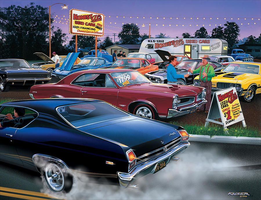 Honest Als Used Cars Photograph by Bruce Kaiser