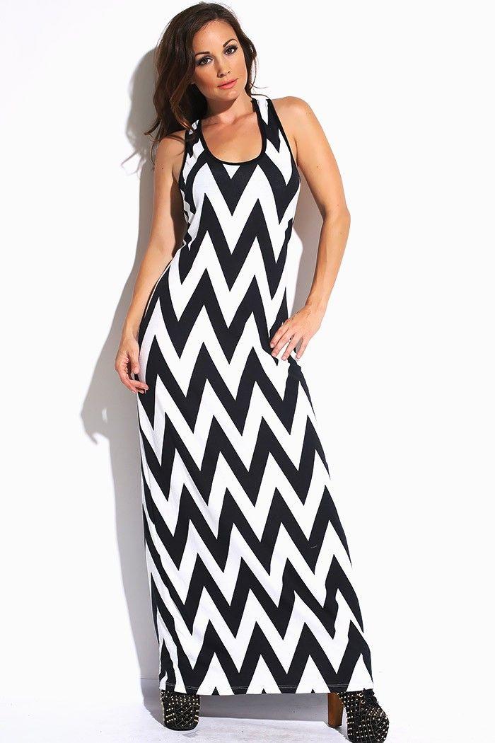 1015store.com #fashion #style plus size black/white chevron ...