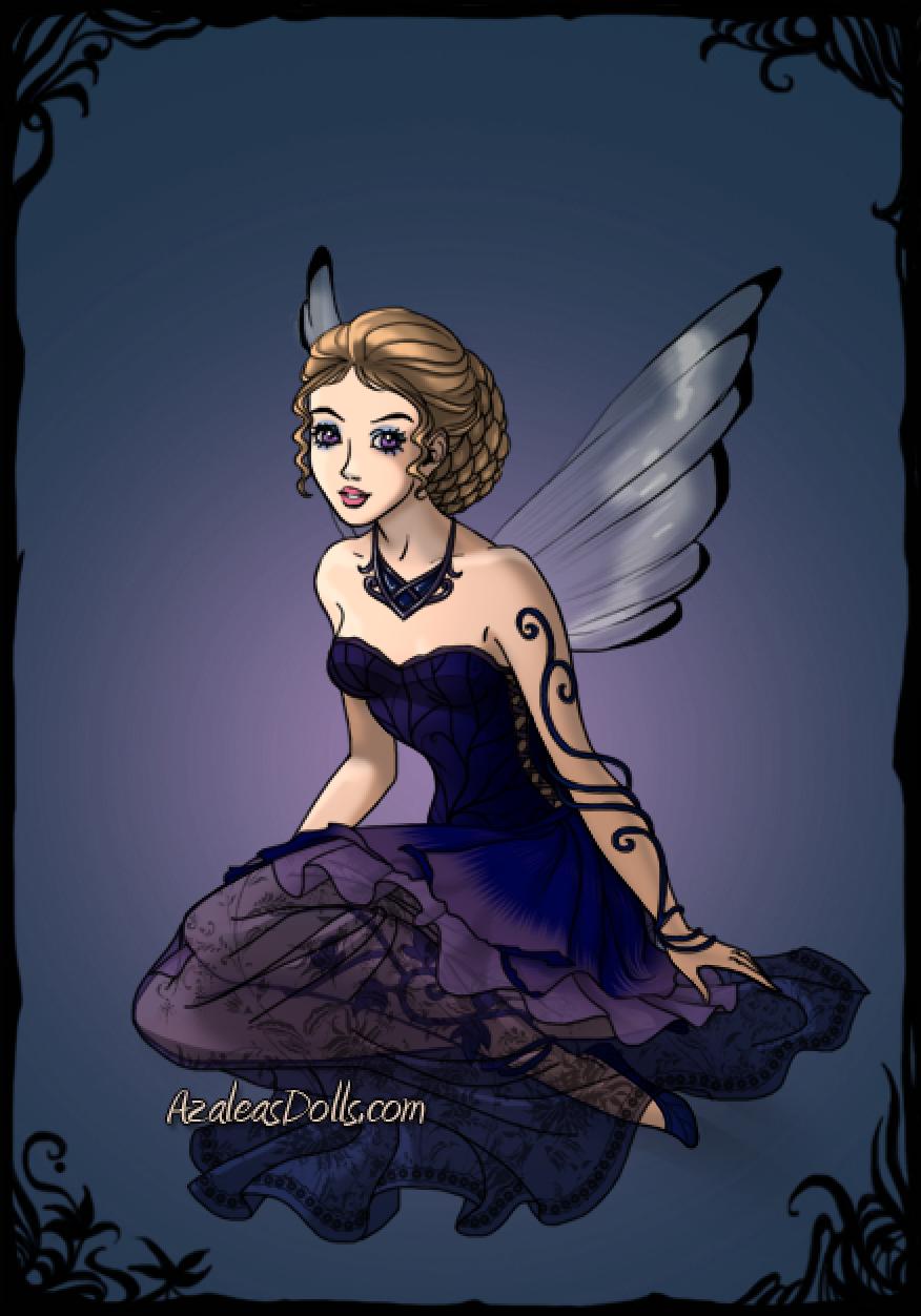 Birthstone Fairies -- Tanzanite (December)