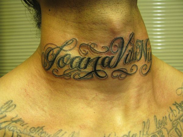 Neck Name Tattoo Ideas Name Tattoos On Neck Side Neck Tattoo