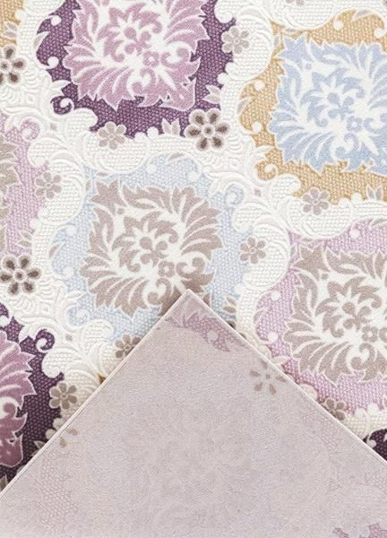 beige purple gold damask panal area rugs discount