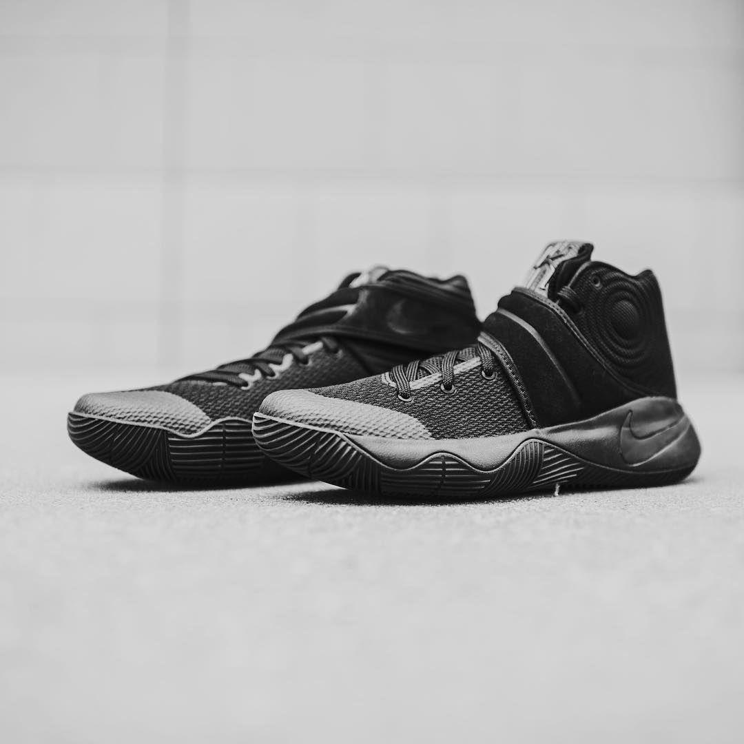 huge selection of 29b2d 5dc50 Nike Kyrie II  Triple Black   Sneakers  Nike Kyrie   Pinterest