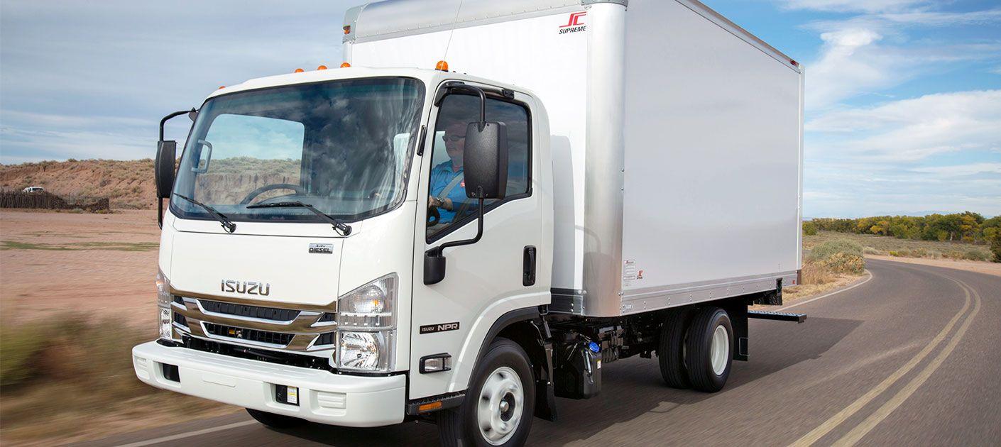 isuzu commercial vehicles low cab forward trucks commercial trucks diesel photo gallery [ 1410 x 630 Pixel ]