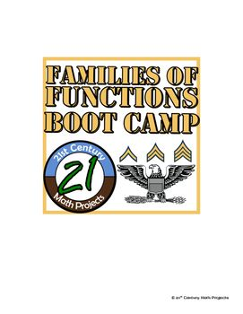 Families of Functions Boot Camp -- Differentiated Practice