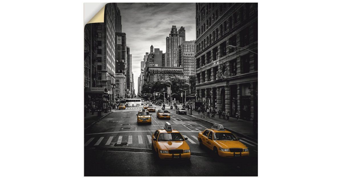 Photo of Artland wall film »M. Viola: New York Traffic on 5th Avenue « OTTO