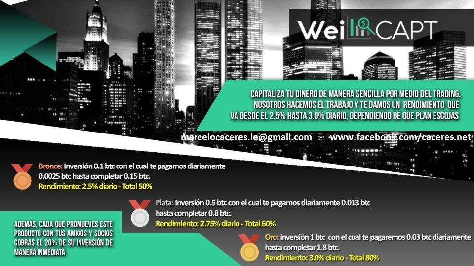 WeiFastPay, Marcelo Caceres, Argentina  06 Registraste gratis aquí: www.weifastpay.com/bo/site/weies/marcelo
