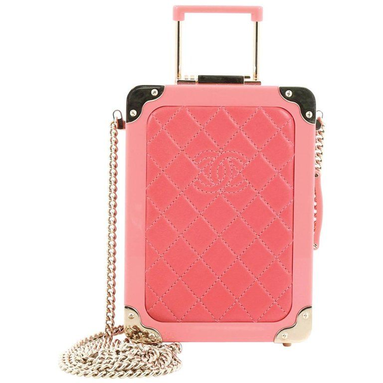 a2afef31d70e79 Chanel Trolley Minaudiere Plexiglass and Quilted Lambskin | From a  collection of rare vintage evening bags