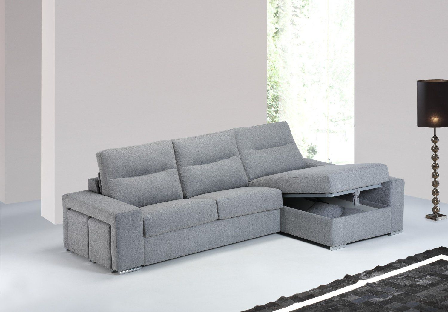 Canap convertible d 39 angle conde couchage quotidien 140 - Canape d angle convertible couchage quotidien ...