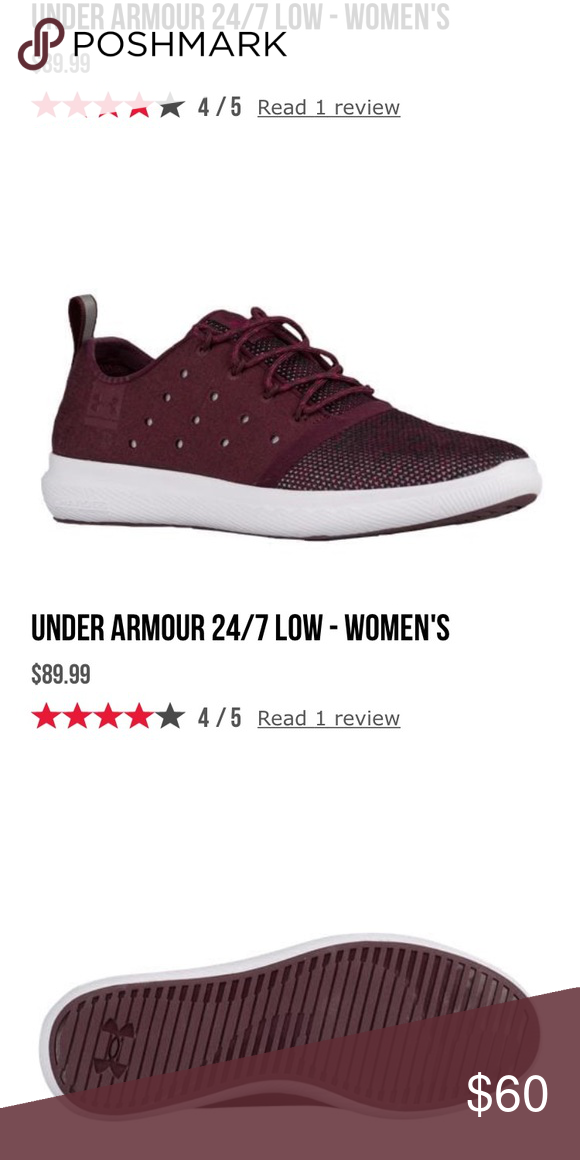 Under Armor UA Charged Sneakers ‼️