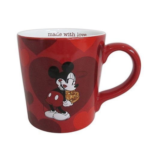 Disney S Mickey Mouse Valentines Coffee Mug By Jumping Beans Coffee Valentines Disney Mickey Mouse Coffee Heart
