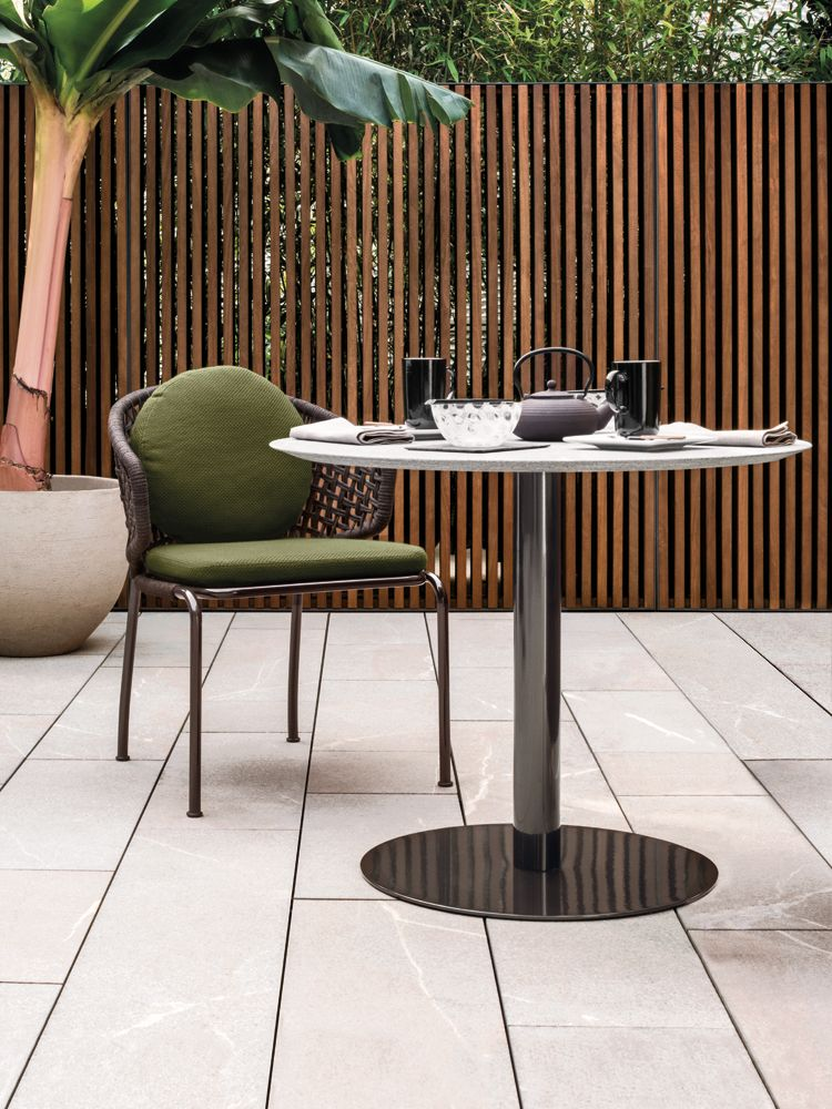 Discover All The Information About The Product Contemporary Table / Metal /  Round / Garden BELLAGIO BISTROT   Minotti And Find Where You Can Buy It.