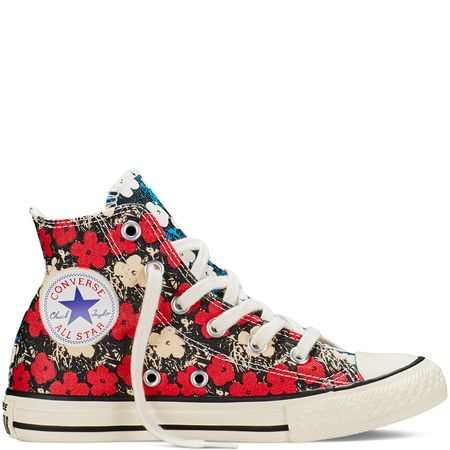 Chuck Taylor All Star Andy Warhol Floral Converse US