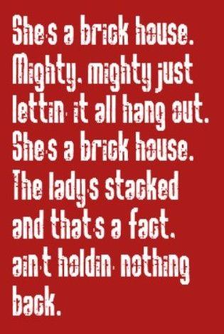 Lyric Brick House : lyric, brick, house, Lyrics