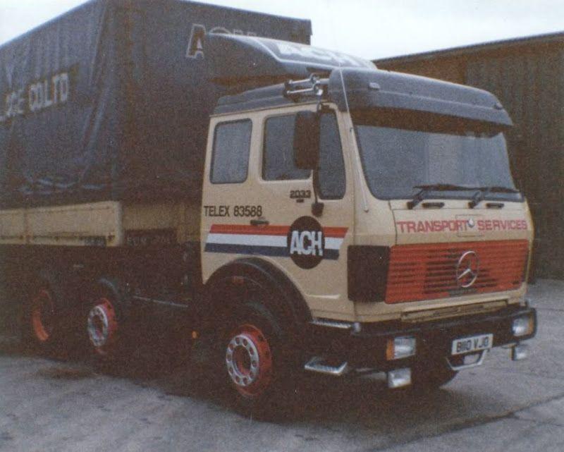 Mercedes 6X2