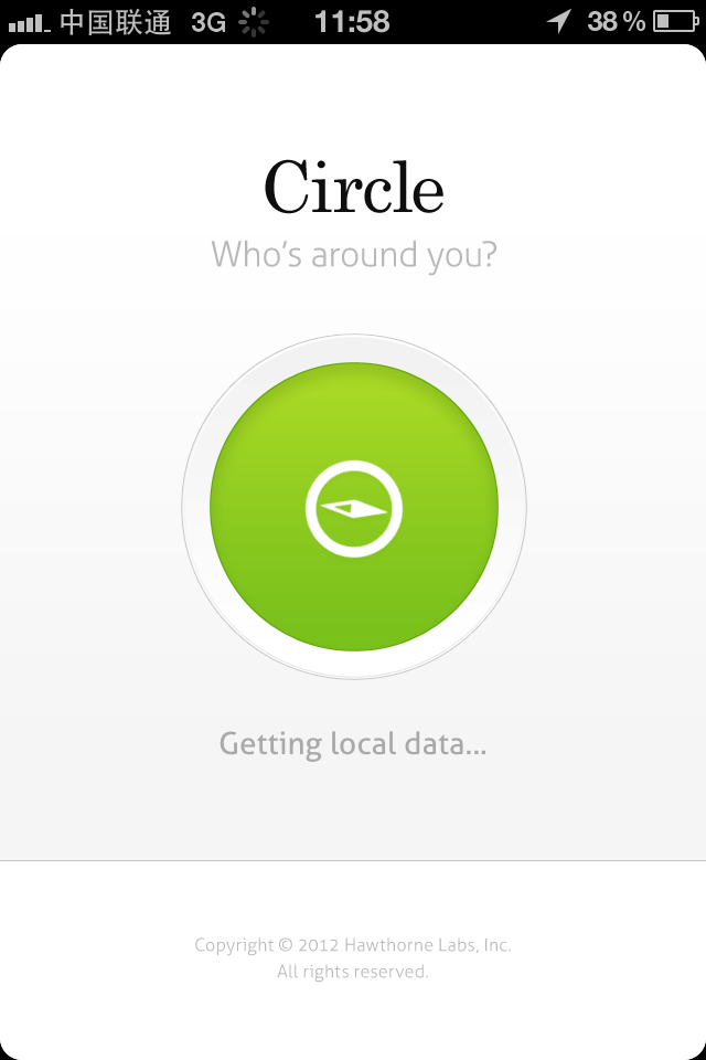 CIRCLE Ios design, Ios application