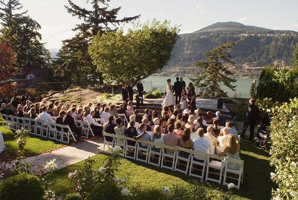 Wedding Columbia Gorge Hotel