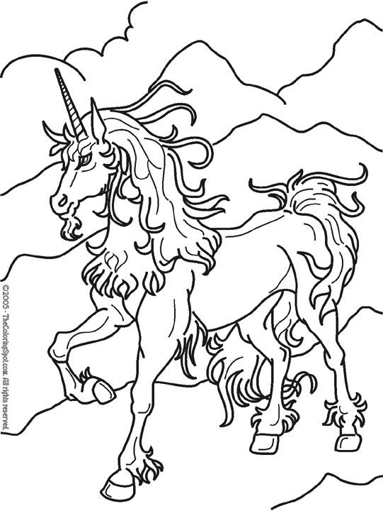coloring pages of unicorns - Google Search | Fairies and Unicorns ...