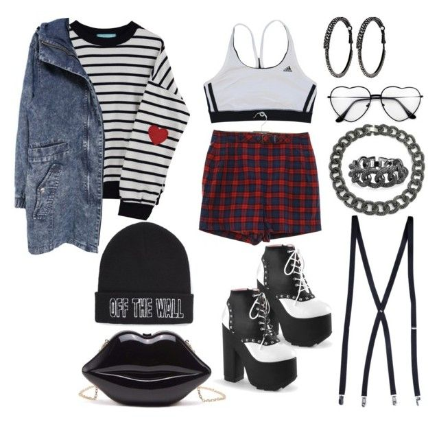 """""""Hipster"""" by ayeeeitsfatso ❤ liked on Polyvore featuring adidas, Vans, Bling Jewelry and Avenue"""
