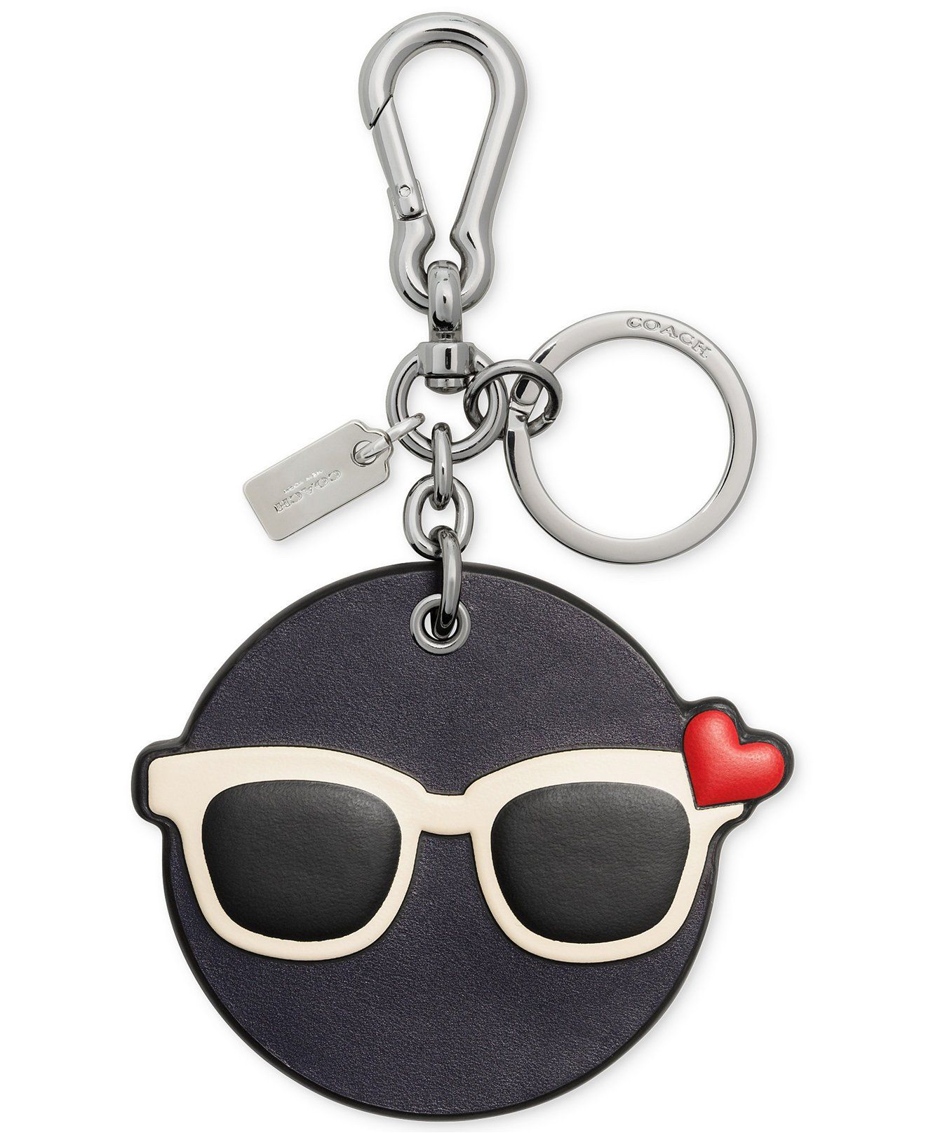 Coach Shady Emoji Bag Charm