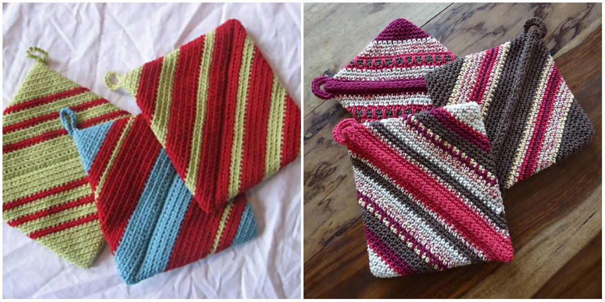 Pthere Must Be Something With Grandmas Making These Hot Pads This