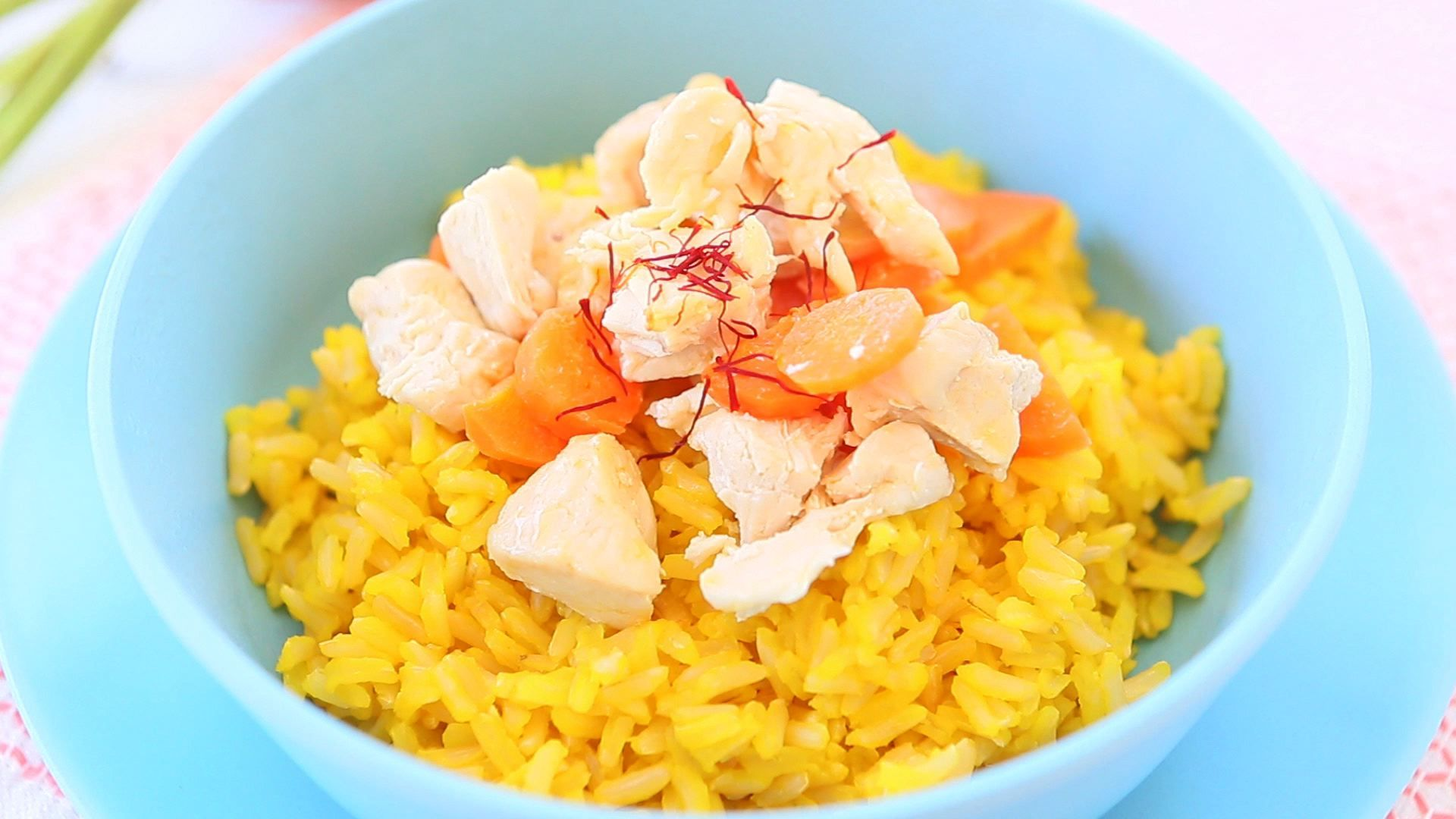 Chicken rice saffron baby puree papinhas caseiras pinterest chicken rice saffron carrot puree toddler and baby recipe the simple addition of few saffron petals will really elevate the taste of this recipe forumfinder Gallery